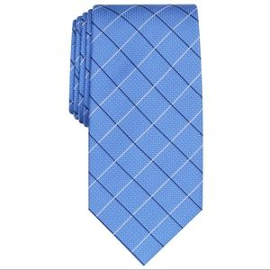 New Mens Kelley Grid Silk Blend Plaid Neck Tie